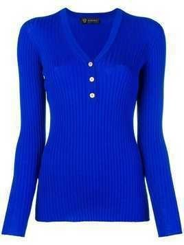 Versace fitted sweater - Blue