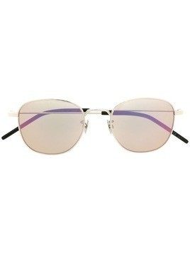 Saint Laurent round frame sunglasses - Silver