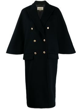 Gucci double-breasted peacoat - Black