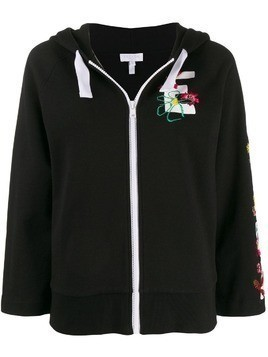Escada Sport embroidered logo jacket - Black