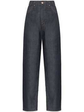 Goldsign The Curved tapered jeans - Blue