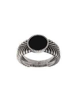 Emanuele Bicocchi textured ring - Silver