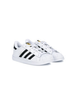 Adidas Kids Superstar sneakers - White