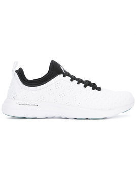 Apl - TechLoom lace-up sneakers - Damen - rubber/Neoprene/Nylon - 6 - White