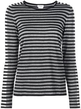 Akris Punto striped jumper - SILVER