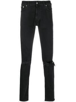 Represent Destroyer mid-rise skinny jeans - Black
