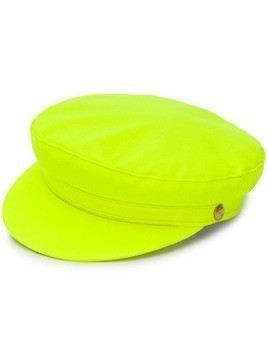 Manokhi neon biker hat - Yellow