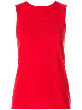 Le Tricot Perugia basic tank top - Red