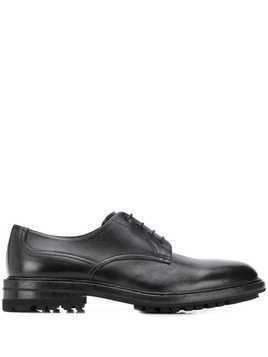 Henderson Baracco ridged-sole lace-up shoes - Black
