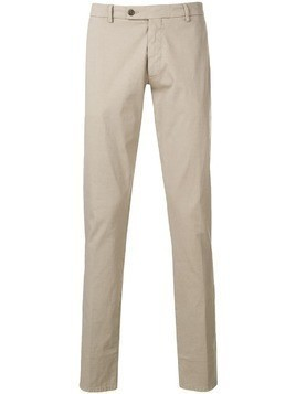 Berwich straight-cut trousers - Neutrals