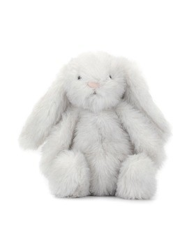 Jellycat fluffy bunny soft toy - Grey