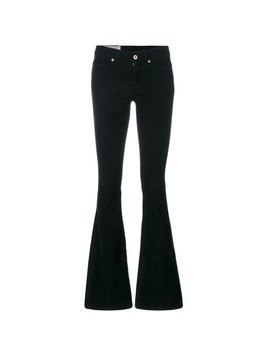 Dondup low rise flared jeans - Black