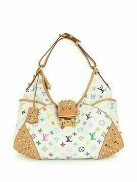 Louis Vuitton 2010 pre-owned Chrissie MM tote bag - White
