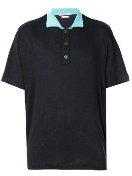 Common Wild knitted polo shirt - Blue