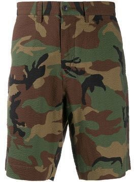 Polo Ralph Lauren camouflage seersucker shorts - Green