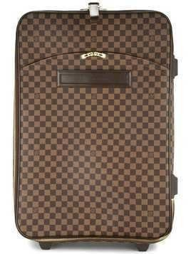 Louis Vuitton Pre-Owned Pegase 65 travel carry hand bag - Brown