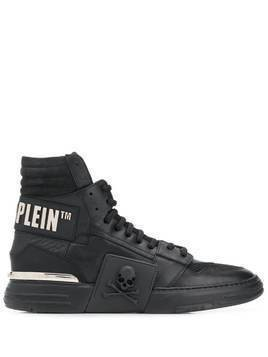 Philipp Plein Statement hi-top sneakers - Black