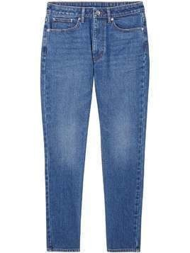 Burberry straight-leg mid-rise jeans - Blue