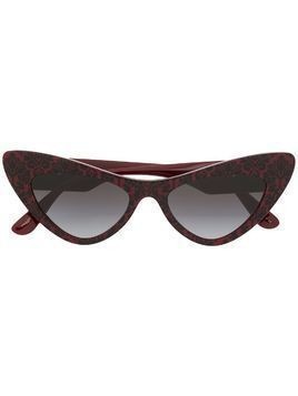 Dolce & Gabbana Eyewear cat eye sunglasses - Red