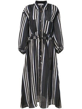 Apiece Apart striped shirt dress - Black
