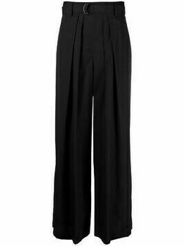 Christian Wijnants Prachi wide-leg trousers - Black