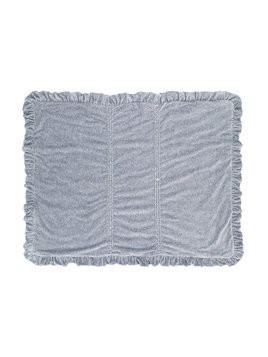 Siola ruffled blanket - Grey
