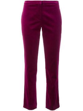 Theory cropped tux pants - Pink & Purple