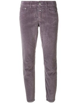 Closed classic slim-fit trousers - Pink