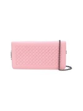 Bottega Veneta woven shoulder bag - Pink&Purple