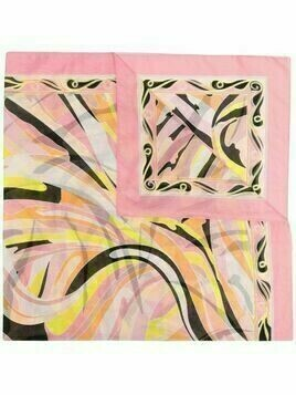 Emilio Pucci Vetrate print sarong - Pink