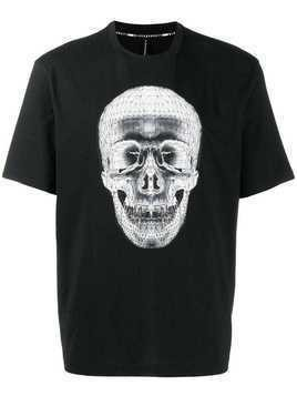Blackbarrett Wireframe skull T-shirt