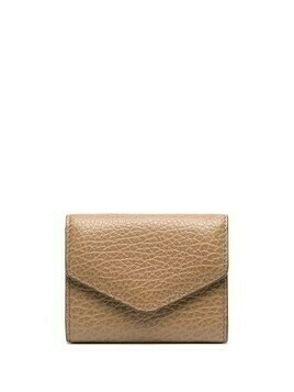 Maison Margiela textured wallet - Neutrals