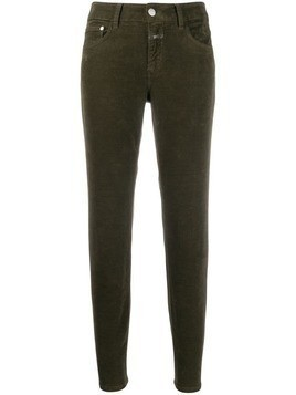 Closed cropped skinny jeans - Green