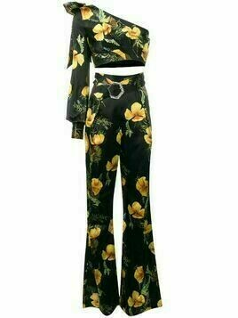 Philipp Plein In Flowers two -piece - Black