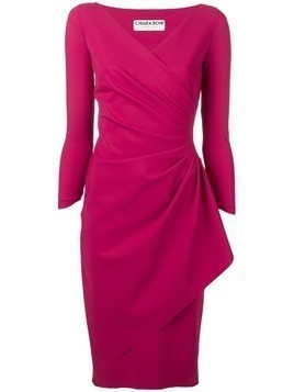 Le Petite Robe Di Chiara Boni knotted waist dress - Red