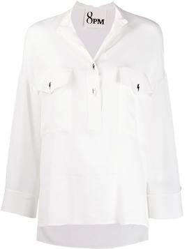 8pm loose fit blouse - White