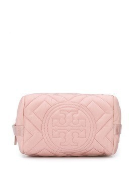 Tory Burch quilted make up bag - Pink