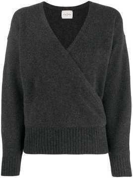 Le Kasha london cross-over jumper - Grey