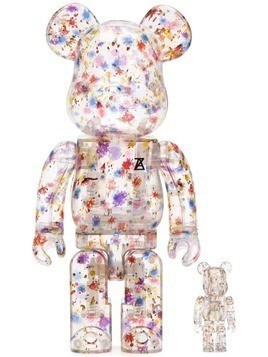 Medicom Toy Anrealage x Medicom Toy bear collectible - 2 set - White
