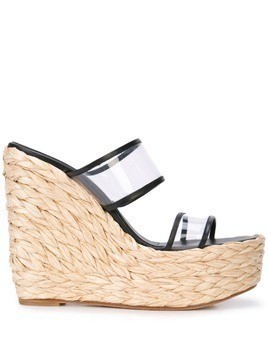 Ritch Erani NYFC Tulum wedge sandals - Black