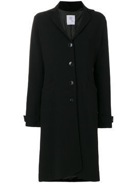 Boule De Neige single breasted coat - Black