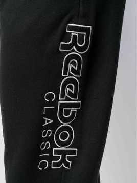 Reebok side logo track pants - Black