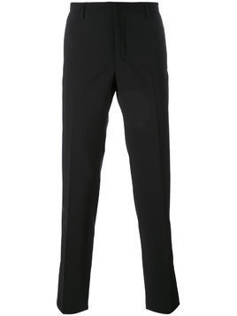 Aiezen straight-leg trousers - Black