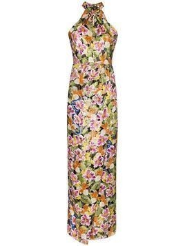 Borgo De Nor Alyona tropical floral print dress - Black