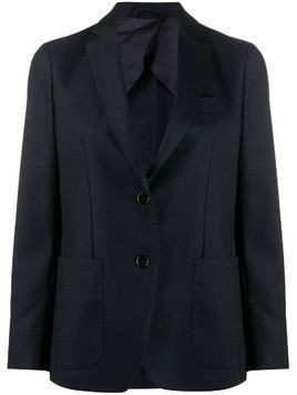 Fay fitted single-breasted blazer - Blue