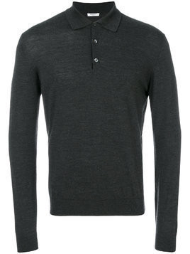 Fashion Clinic Timeless Henley jumper - Grey
