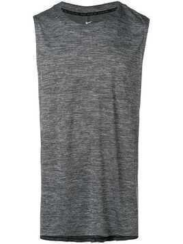 Nike Medalist sleeveless running top - Grey