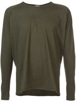 Jan Jan Van Essche plain long-sleeve T-shirt - Green