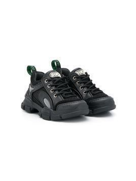 Gucci Kids Flashtrek sneakers - Black