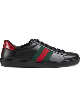 Gucci - Ace leather sneakers - Herren - Calf Leather - 7 - Black
